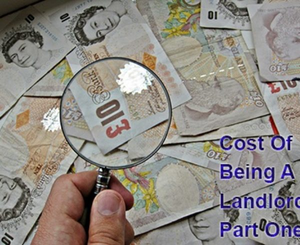 cost of being a landlord part one