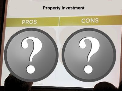 property investment advantages disadvantages