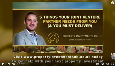 property joint ventures
